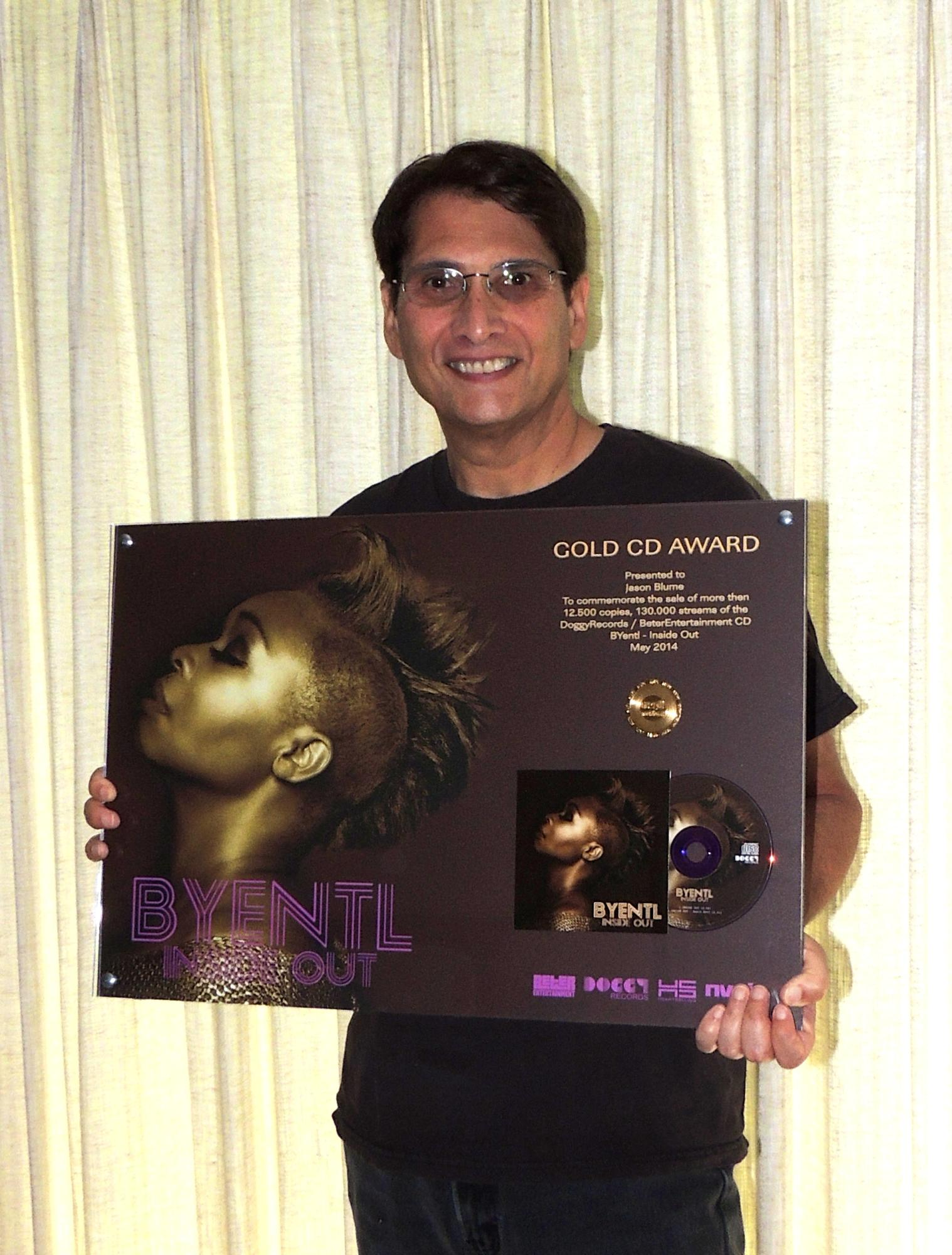 Byentl Gold Record
